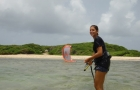 cours kitesurf guadeloupe decollage eau
