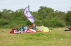 cours kitesurf guadeloupe decollage terre2