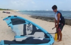 cours kitesurf guadeloupe gonflage1