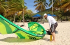 cours kitesurf guadeloupe gonflage 2