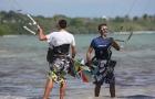 cours kitesurf guadeloupe croisement ailes en l'air