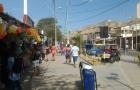 Mancora calle principal