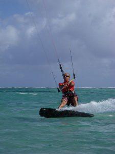 Navigation kitesurf guadeloupe