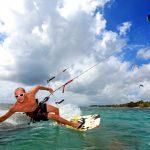 kitesurf Guadeloupe lagon Bois Jolan