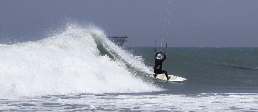 Wave riding kite Bateria